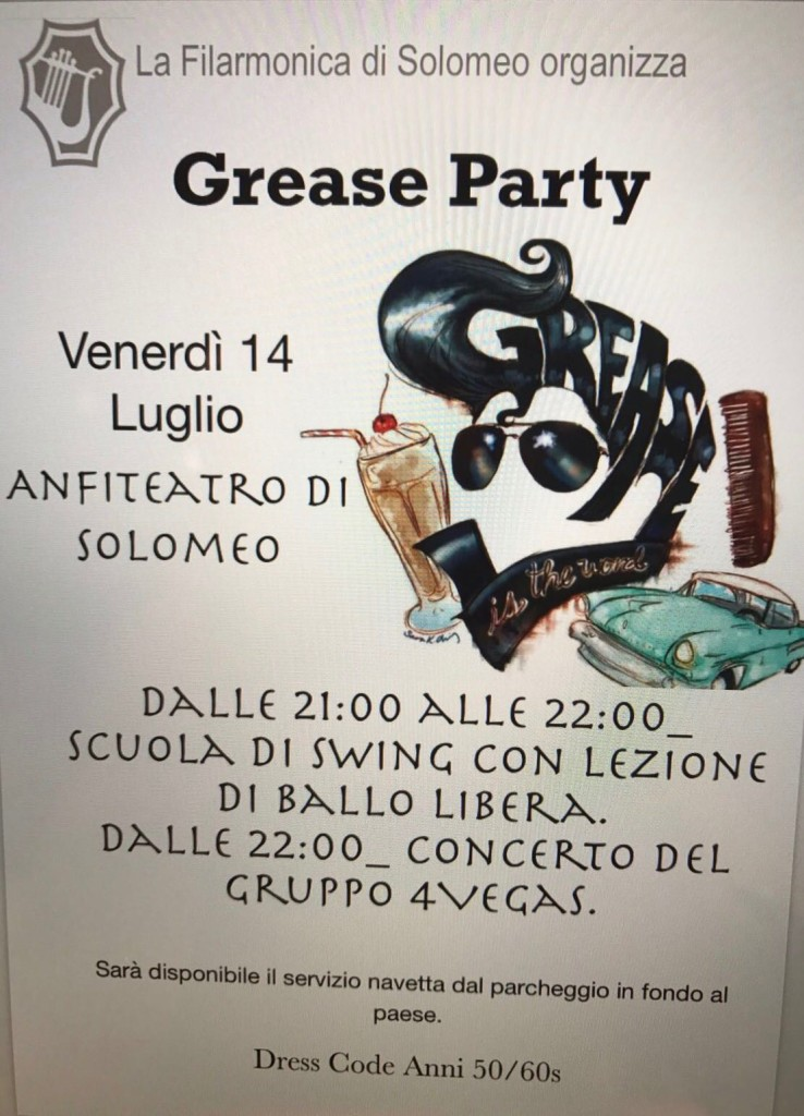 solomeo grease party
